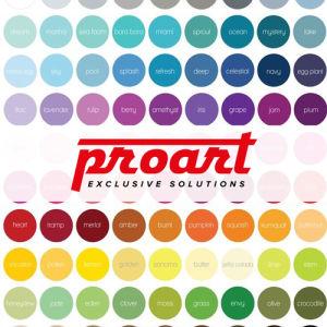Proart. Полная палитра цветов и оттенков искусственного камня от ведущих мировых производителей