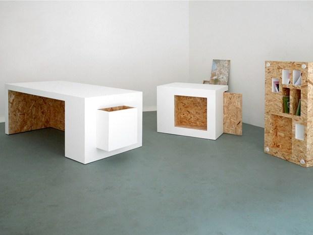 Studio Polpo. Коллекция мебели для проекта Bloc Projects