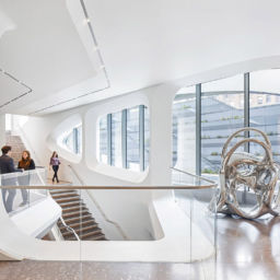 здание авторства Zaha Hadid в New York. Фото©Hufton+Crow