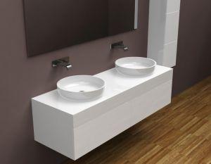 умывальники для ванной из акрилового камня