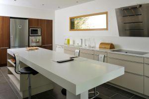 барная стойка для кухни из акрилового камня