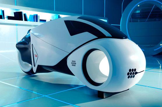 Прототип транспорта из фильма TRON LEGACY